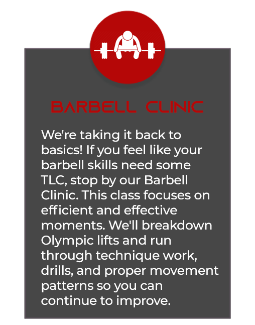 Barbell Clinic
